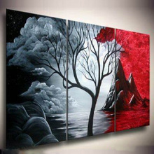 100% hand-painted oil paintings on canvas Best Art Landscape painting  home decoration Modern wall LA3-060