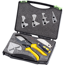 5-in-1 Multifunctional Professional Cutting Pliers Kit for Wire Grooves Plastic Pipe Batten and Rubber