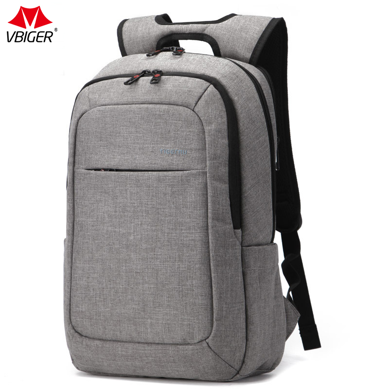 Vbiger Unisex Laptop Backpack School Rucksack Anti-thief Mochila , Suitable for Carrying Laptop and Other Items, Light Grey