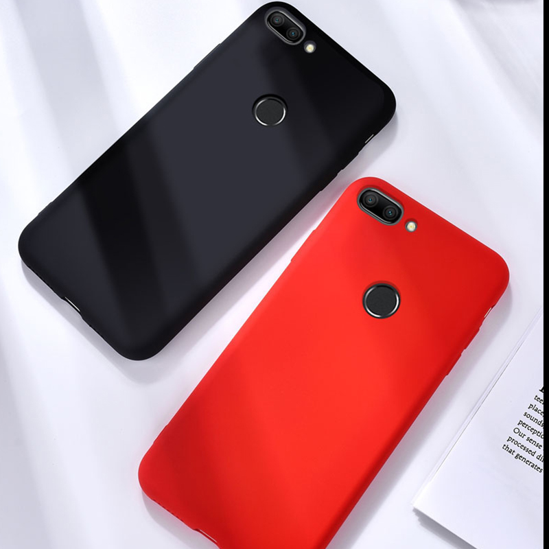 Liquid <font><b>Silicone</b></font> Phone <font><b>Case</b></font> On For Huawei <font><b>Honor</b></font> <font><b>9</b></font> <font><b>lite</b></font> light Protective <font><b>Case</b></font> On For <font><b>Honor</b></font> 9i bumper coque wuawei honer 9lite <font><b>9</b></font> i image