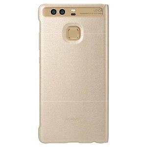 Image 5 - Huawei Original Smart Telefon Fall Ansicht Abdeckung Flip Fall Für Huawei P9 Gehäuse Schlaf Funktion intelligente Telefon Fall
