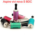 100% original aspire bdc atomizador 3.5 ml vivi nova s bottom doble bobina clearomizer cigarrillo electrónico atomizador yy