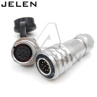 Original WEIPU SF12 Series 12mm Waterproof Connector 9 Pin Plugs And Sockets Automotive Connectors LED Power