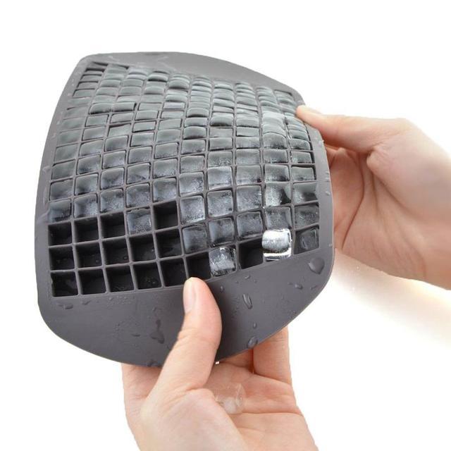 Siliconen Ice Cube Tray Mold Diamond Shape 160 Grids Ijs Maker Schimmel Fruit Cube Mallen