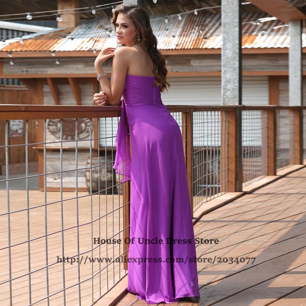 Atractivo Vestido Ciruela Para Invitados De La Boda Ideas Ornamento ...