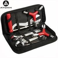 Bicycle Repair Kits Bag 8 In 1 Portable Cycling Bicicle Repair Tools Kits Tire Repair Kits Multifunction Tools Bike Tool Set
