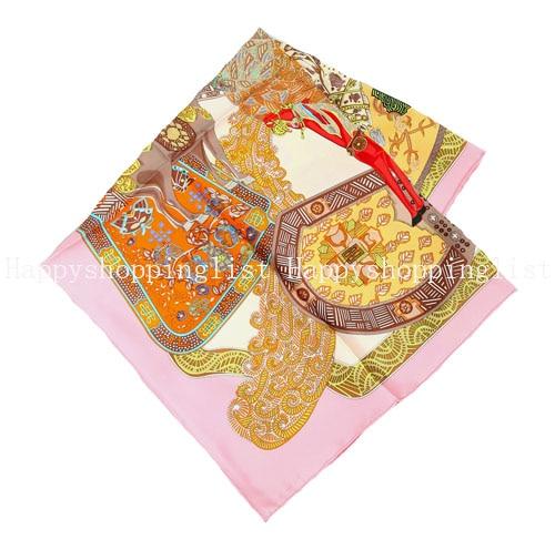ELEGANT HANDMADE BRAND 16MM 100%Twill Silk Scarf TWIC-109981