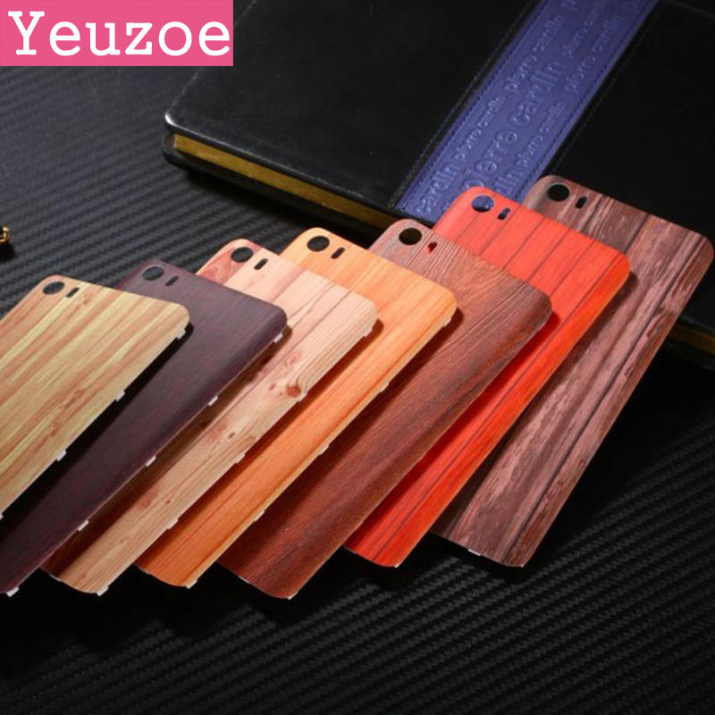 Replace Battery Back Cover case for xiaomi mi5 cover Plastic Wood Bamboo pattern protector case for xiaomi 5 phone housing shell
