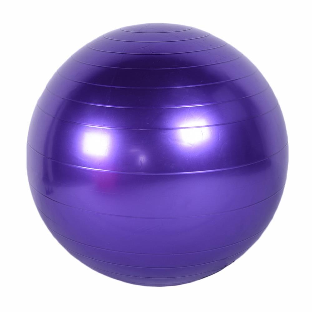 75cm Fitness Yoga Ball Smooth Balance Gym Exercise With Pump Body Warna Packing List 1ball