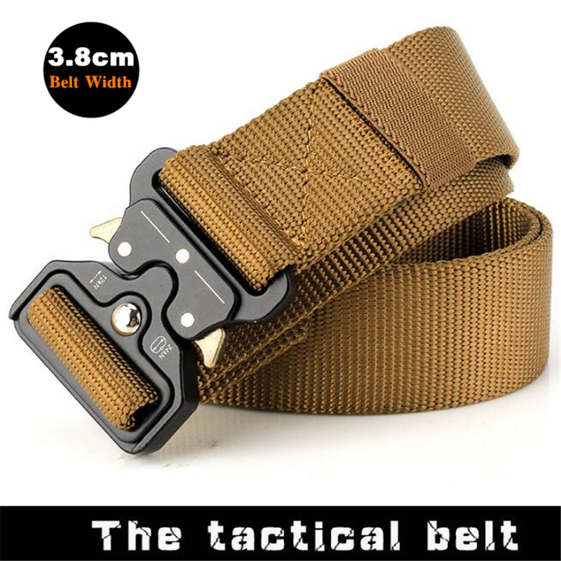 Tactical Belt Military Nylon Outdoor Multifunction Training High Quality Strap