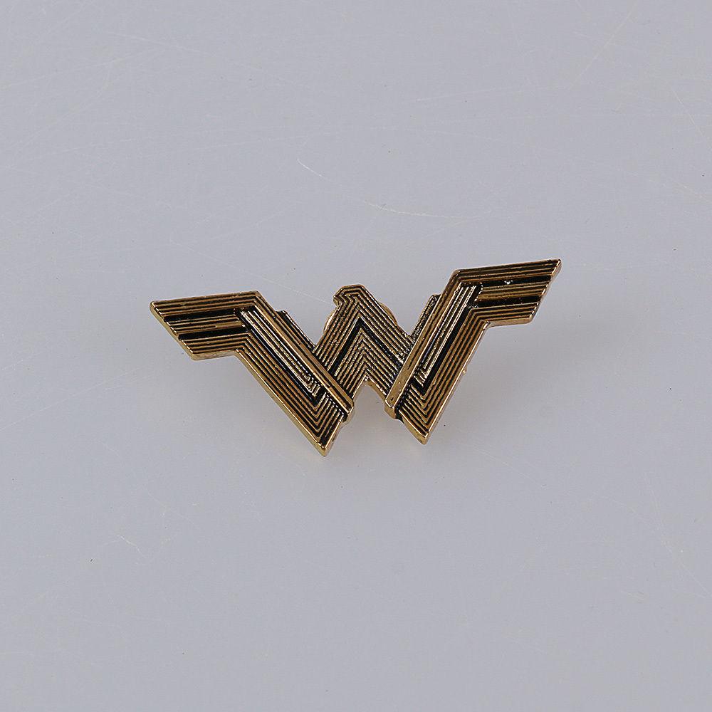 2017 Movie Wonder Woman Superhero Diana Prince Badge Metal Brooches Pin Halloween Carnival Cosplay Accessories Prop Adult Women (5)