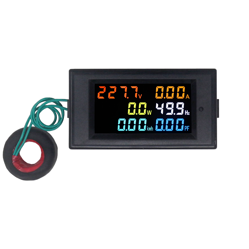 Kintamos srovės voltmetro ampermetro galios energijos matuoklis - Matavimo prietaisai - Nuotrauka 5