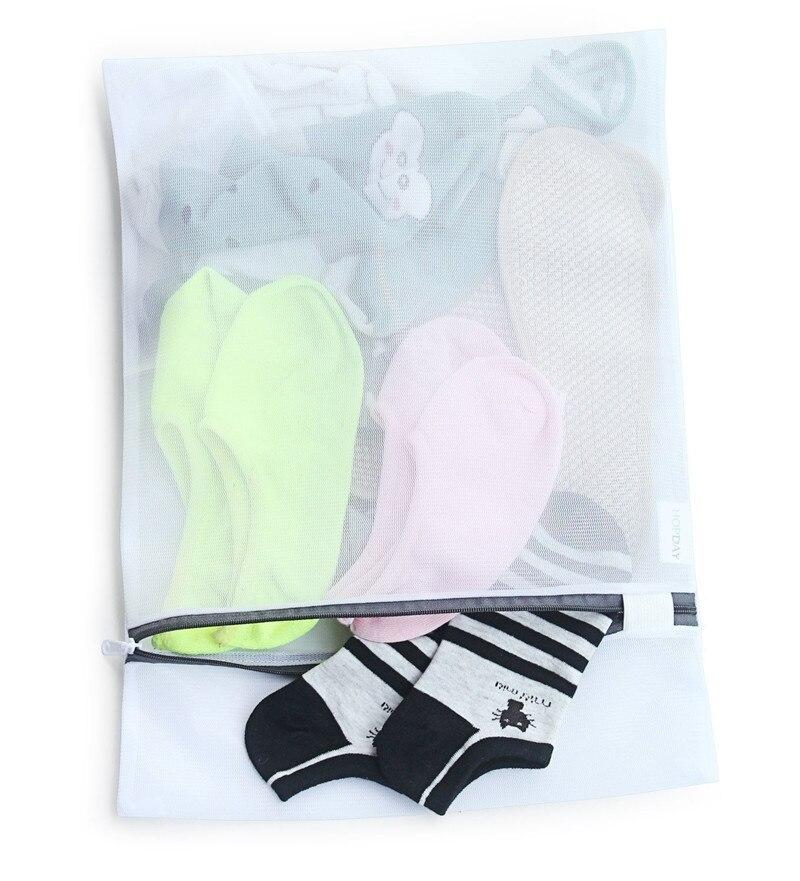 120pcs/lot Laundry Bags Bra Underwear Baskets Mesh Bag Laundry Washing Care Cleaning Kits Large&Mecium Size