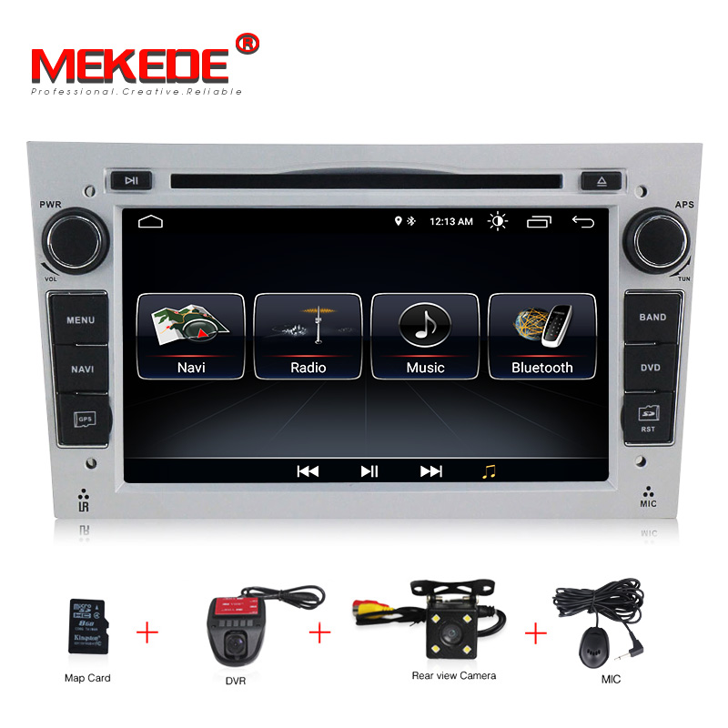 HD 1024*600 Octa Core 2din Android 8.1 Car DVD Player For Opel Corsa Vectra C D Meriva Vivaro Tigra Radio GPS Navi 8G map