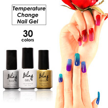 Bling Nail Gel Polish 6ml Temperature Changing Color Soak-off UV Colorful Gel Polish Varnish