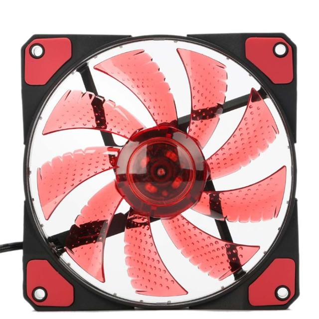 New 12cm Ultra Silent LED Case Fans 2