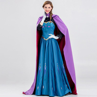 2017 Fashion Halloween Queen Costume Fairy Tale Photo Studio Art Portrait Dress Princess Stage Acting Costume