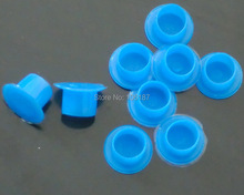 1000Pcs/Bag Large Size +1000Pcs Small Size Tattoo Supply Blue Tattoo Ink Cups Self-standing   For Tattoo Ink  Supply
