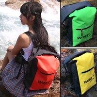 PVC 5L 10L 20L Im Freien Wasserdichte Trocken Tasche rucksack Schwimmen Taschen Sack Lagerung für Reisen Rafting Bootfahren Kajakfahren Tauchen