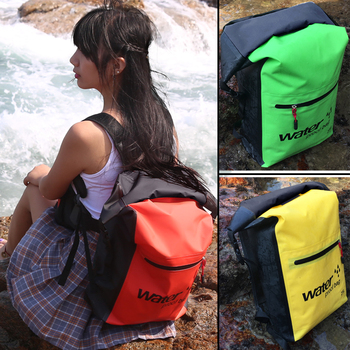 PVC 5L 10L 20L Outdoor Waterproof Dry Bag backpack Swimming Bags Sack Storage for Travelling Rafting Boating Kayaking Diving multifunctional waterproof outdoor drift pvc storage bag yellow 20l