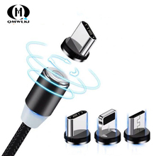 Magnetic Micro USB Cable Fast Charging USB Type C Cable Magnet Charger Data Charge Cable Cord For Iphone 7 Samsung Xiaomi nohon magnetic l shape lighting fast charging cable micro usb type c for samsung xiaomi iphone universal magnet charge cord line