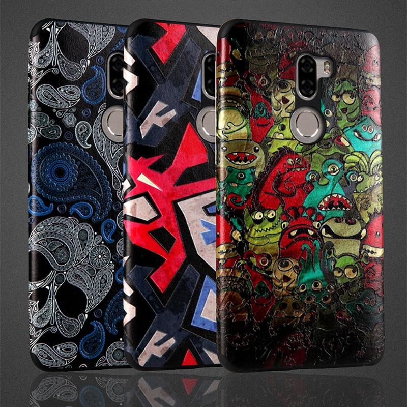Case For Xiaomi Mi5s Plus Cover 3D relief Cartoon Soft vintage flower case Anti Knock Ultra
