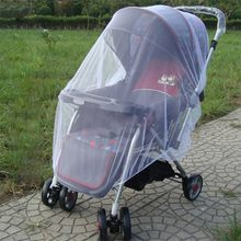 Outdoor Baby Infant Kids Stroller Pushchair Mosquito Insect Net Mesh Buggy Cover New(China)
