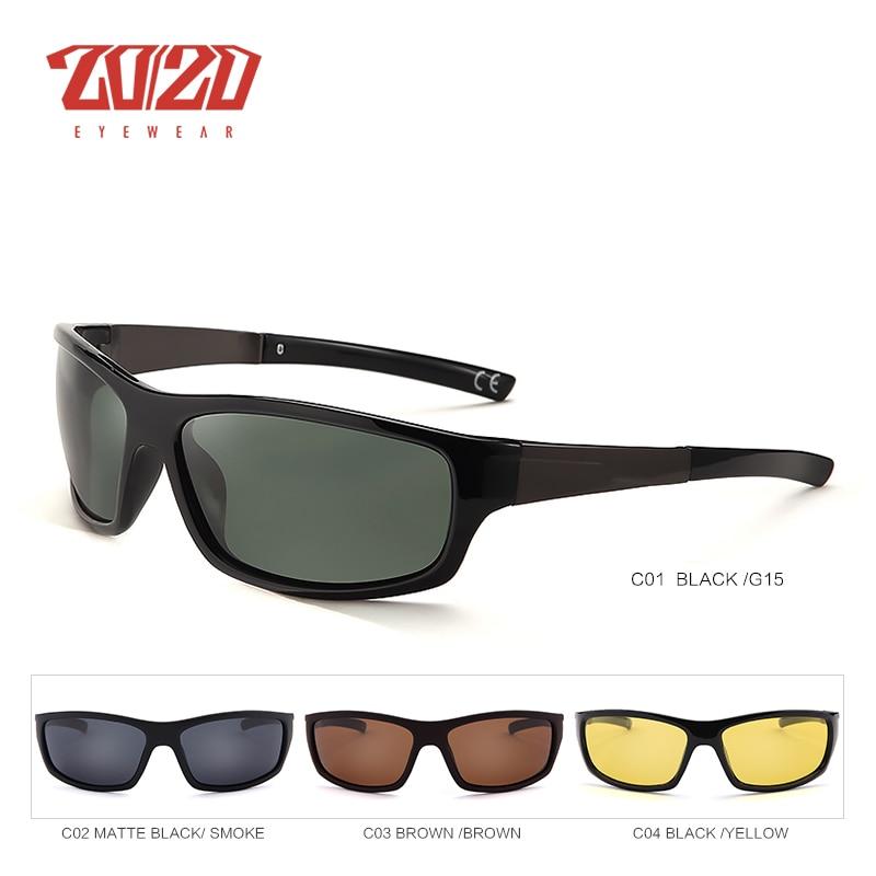 20/20 New Night Vision Solglasögon Män Brand Designer Designer - Kläder tillbehör - Foto 2