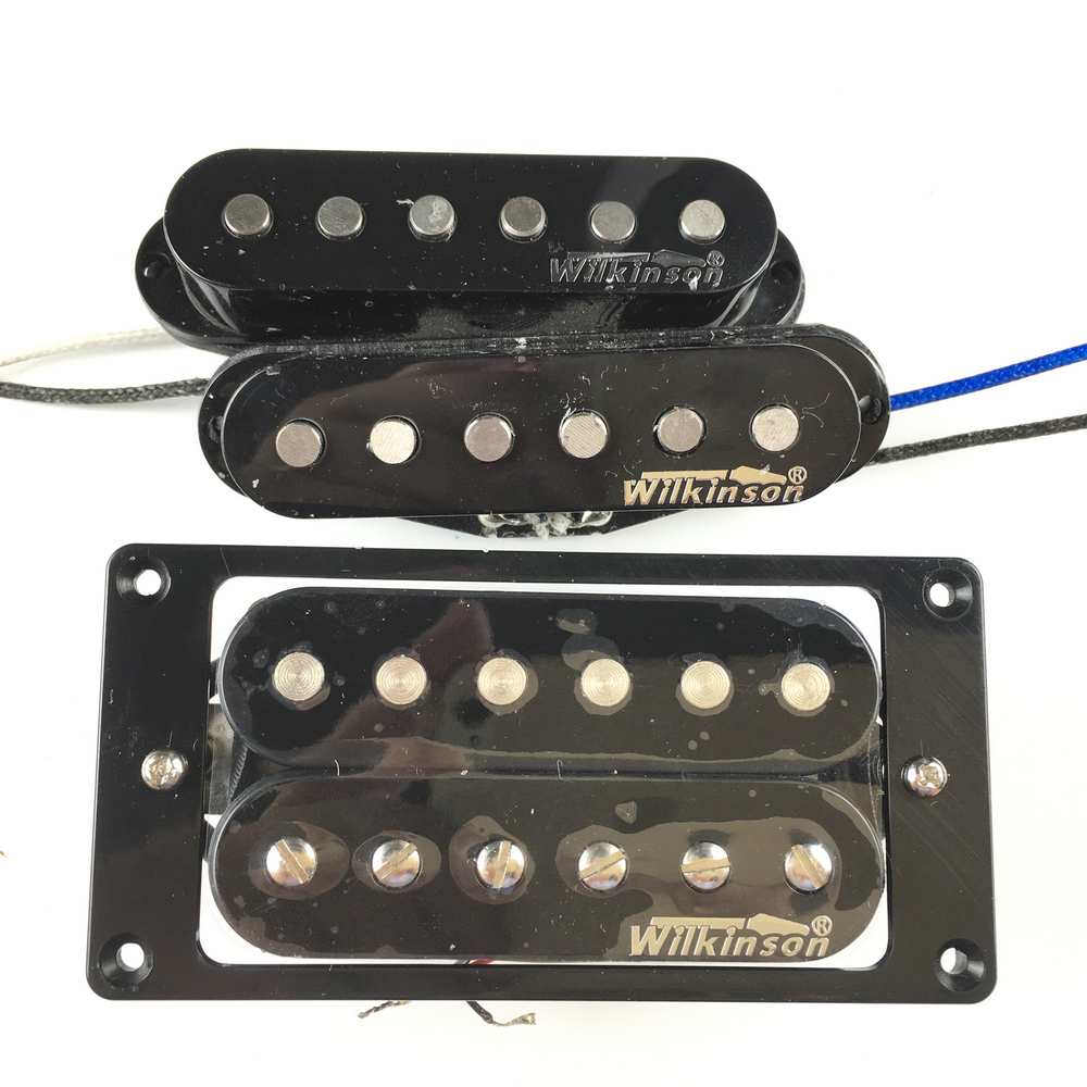 NEW Wilkinson Electric Guitar Humbucker Pickups Made IN Korea new arrival cnbald standard electric guitar goldtop humbucker pickups in gold back deep red 111018