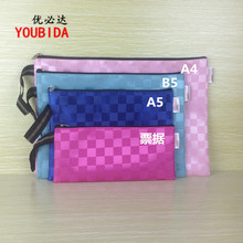 A4 A5 B5 Colorful  File Holder Stationery Document Bag School Supplies Carpetas Archivador gift