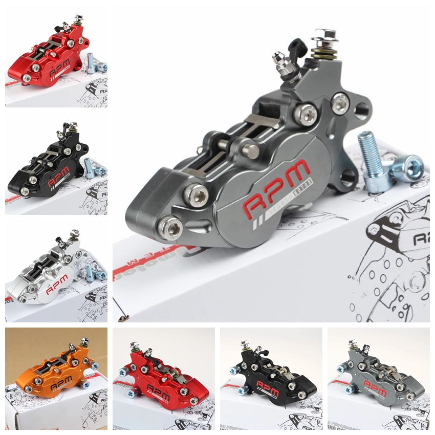 CNC universel Moto tr/min 40mm étriers de frein avec 4 pistons 32*27mm pour Yamaha Honda Kawasaki Moto course vélo de saleté Scooter