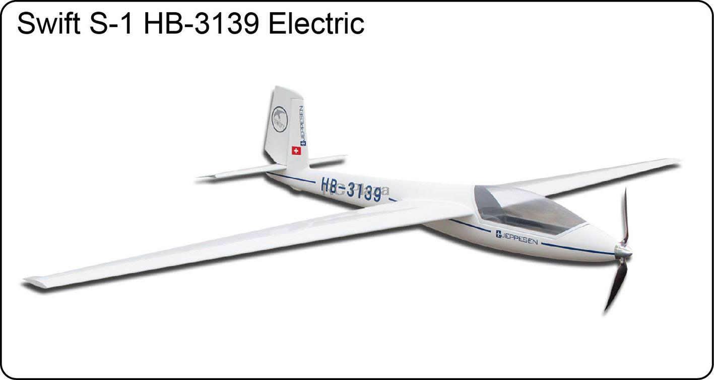 цены на FlyFly Hobby Marganski Swift S-1 HB-3139 Electric Glider 2500mm PNP without Battery & Radio Fiberglass sailplane