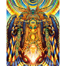 Egyptian god statue diamond Embroidery diy painting mosaic diamant 3d cross stitch pictures H201