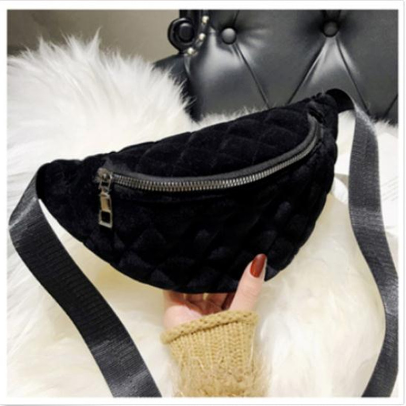 Women's Belt Fashionable Waist Bag New Soild Color Suede Pu Leather Pack Outdoor Ladies' Traveling Sports Chest Bags Hot Selling