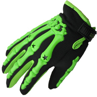 Outdoor Sports Guantes Motorcycle Gloves Superfine Fiber Breathable Mesh Full Finger Riding Run Cool Protection Glove