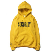 2018 Spring New Justin Bieber Fear Of God Purpose Tour Yellow Men Woman Hoodies Long Sleeve