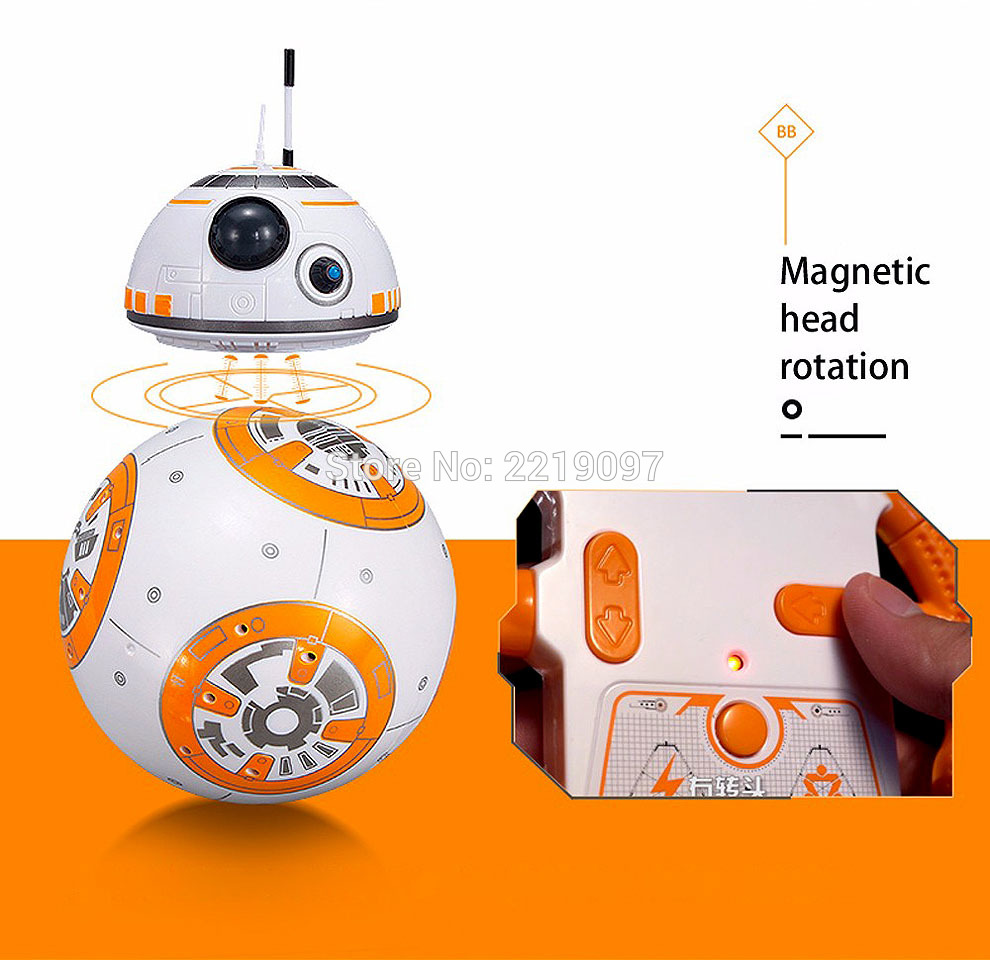 Star Wars Remote Control BB-8 Robot 20.5cm 15