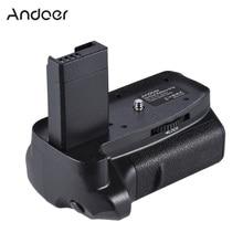 Andoer BG 1H Battery Grip Verticale Per 2 * LP E10 Battery Grip per Canon EOS 1100D 1200D 1300D / Rebel T3 t5 T6 Fotocamere REFLEX Digitali
