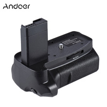 Andoer BG 1H Vertical Battery Grip For 2 * LP E10 Battery Grip for Canon EOS 1100D 1200D 1300D / Rebel T3 T5 T6 DSLR Cameras