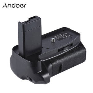 Andoer BG-1H Battery Grip For 2 * LP-E10 Vertical Battery Grip
