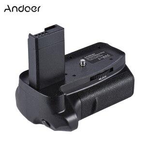 Image 1 - Canon EOS 1100D 1200D 1300D / Rebel T3 T5 T6 DSLR 카메라 용 2 * BG 1H 배터리 그립 용 Andoer LP E10 수직 배터리 그립