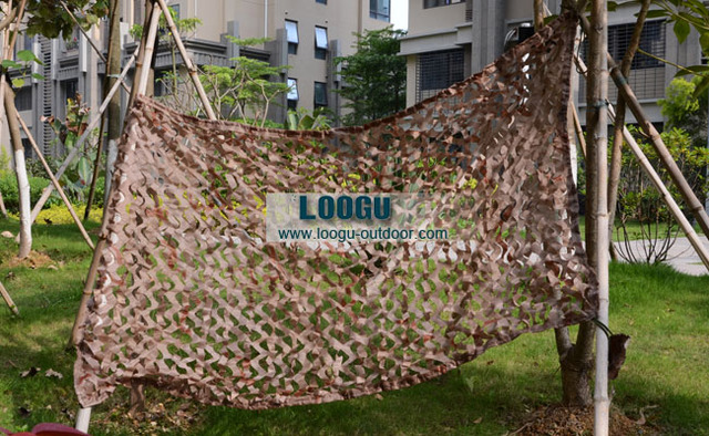 VILEAD 2M x 2M (6.5FT x 6.5FT) Desert Digital Camo Netting Military Army Camouflage Net Jungle Shelter Shade Sails Net Tent