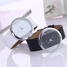 NEW  Brand Fashion Ladies Watches Leather Female Quartz Watch Women Thin Casual StrapWatch Reloj Mujer 5