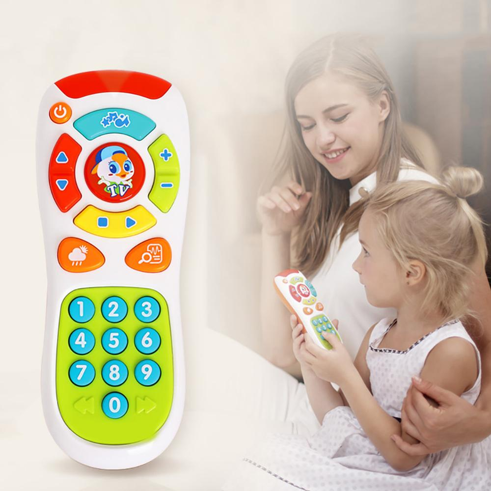 Baby Electric Light Music Click Count Remote Learning Educational Kids Toy Gift