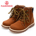 FLAMINGO 100% Russian Famous Brand 2015 New Arrival Autumn&Winner children Fashion High Quality  Boots 52-XB133