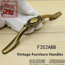 3″ rustico vintage bronze furniture handles 76mm antique brass drawer cabinet dresser cupboard furniture hardware pull knob