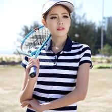 women ladies poloshirt polo femme raph shirt cotton polo frauen cheval camisa striped polo dames plus size junior top