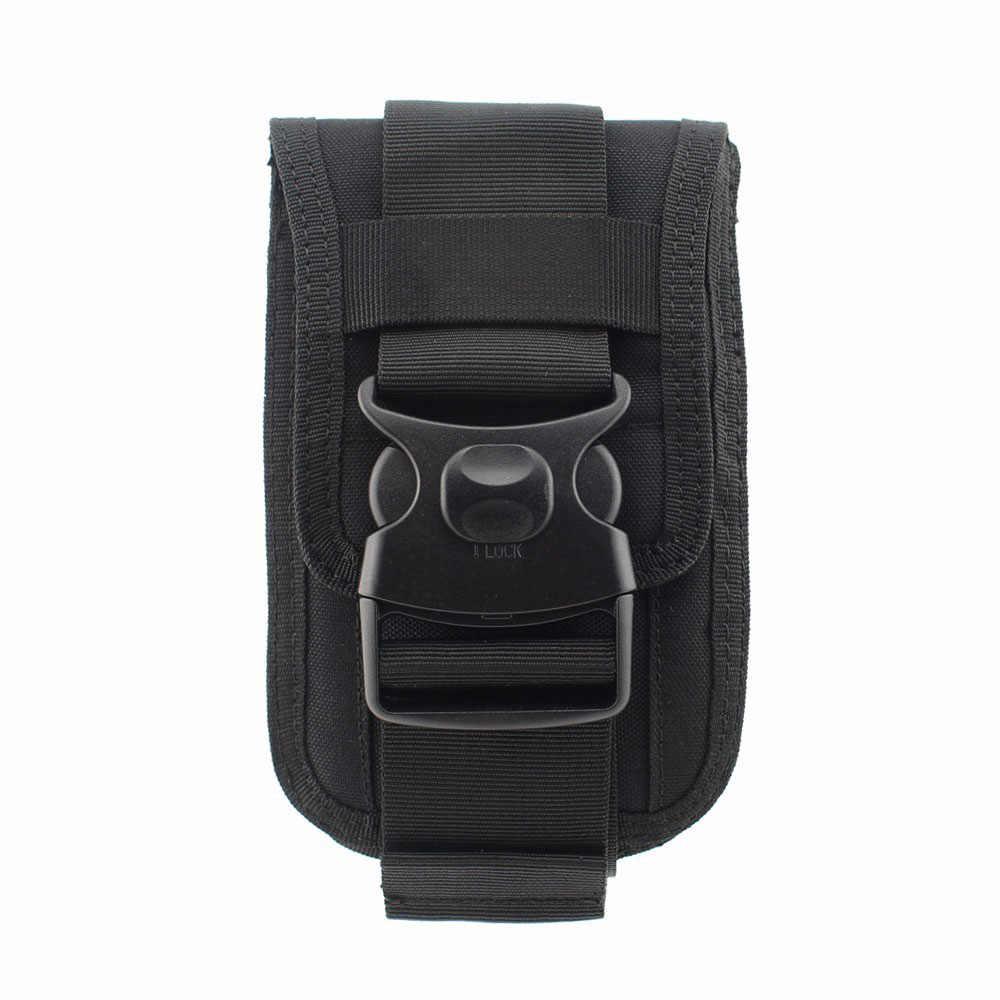 Novo Pacote de Cintura Tático Saco de Mão Cartão da Carteira Do Malote Do Telefone À Prova de Choque Duplo Sistema Molle Acessório Arma para a Caça de Acampamento