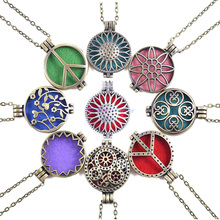 Locket lockets aroma aromatherapy diffuser essential open perfume antique pads pendant