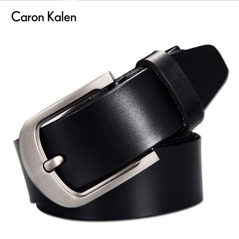 Men's Belt High Quality Genuine Leather Belt Luxury Designer Belts Men Cowskin Fashion Strap Male Jeans For Man Cowboy